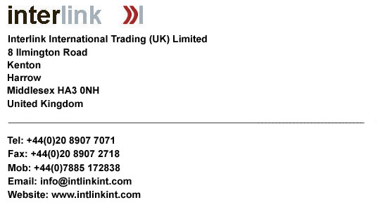 Contact Details for Interlink